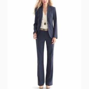 Banana Republic lightweight wool blue women's suit